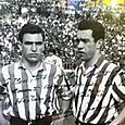 Mauri y Maguregui of Atletic Bilbao