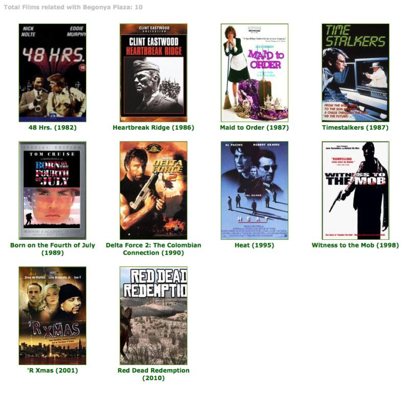 Films with Begonya Plaza
