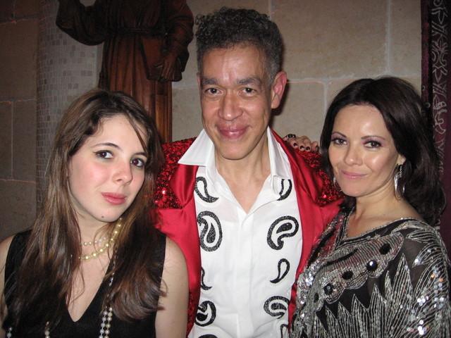 Andres Serrano and Caterina Armenter