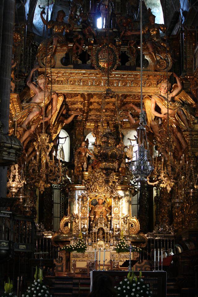 Alter of Santiago de Compostela