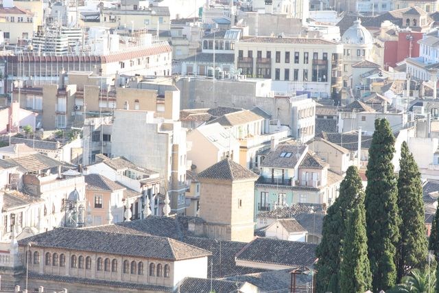 A piece of Sevilla from above.